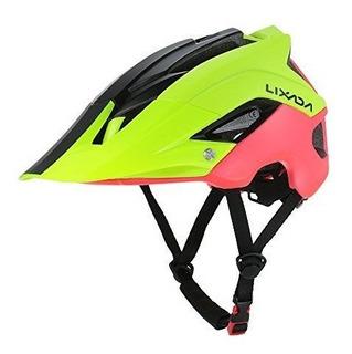 Capacete Ciclismo Mtb Bike Mold Lixada Yellow/red 56 A 62cm