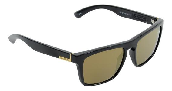 Óculos Masculino Quiksilver The Ferris Black Flash Gold