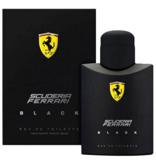Perfume Masculino Ferrari Black Eau 125ml Original