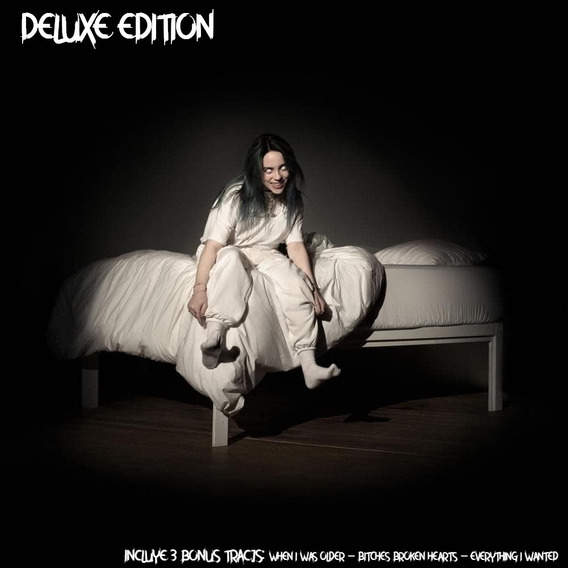 Billie Eilish When We All Fall Asleep Deluxe Cd 3 Bonus 2020