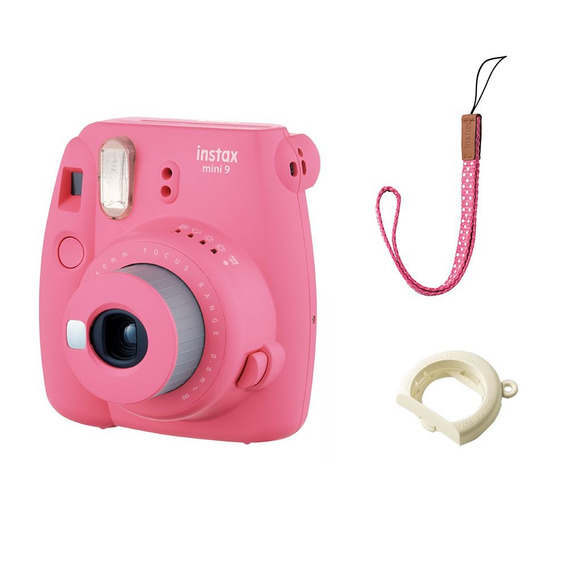 Mini Polaroid Moderna Câmera Instantânea Fujifilm Instax Ros