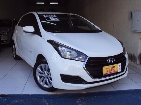 Hyundai Hb20 Comfort Plus Ano 2016 Branco Único Dono