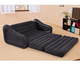 Sillon Sofa Cama Matrimonial Inflable Queen +envio Gratis+