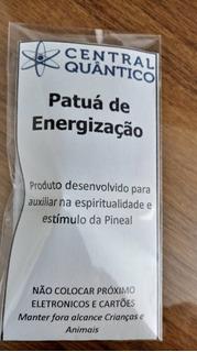 Patuá De Pineal - Com Turmalina Negra, Imã E Ervas Especiais