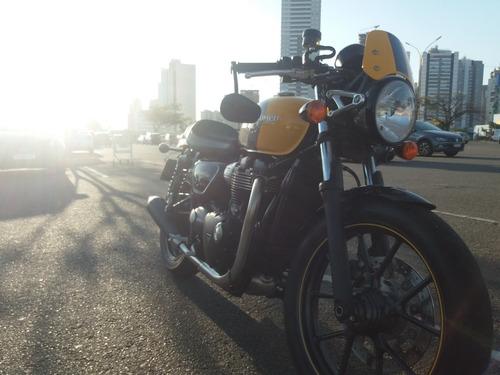 Triumph Street Cup Café Racer Original Moto Para Coleção
