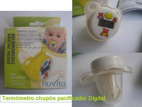 Termómetro Chupon Pacificador Para Bebe