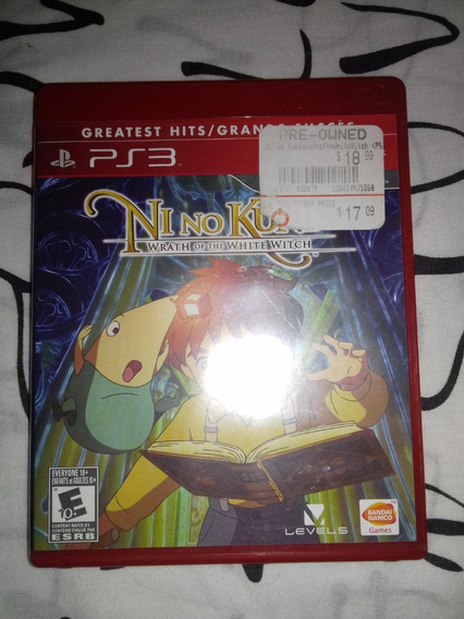 Ni No Kuni Wrath Of The White Witch Para Playstation 3