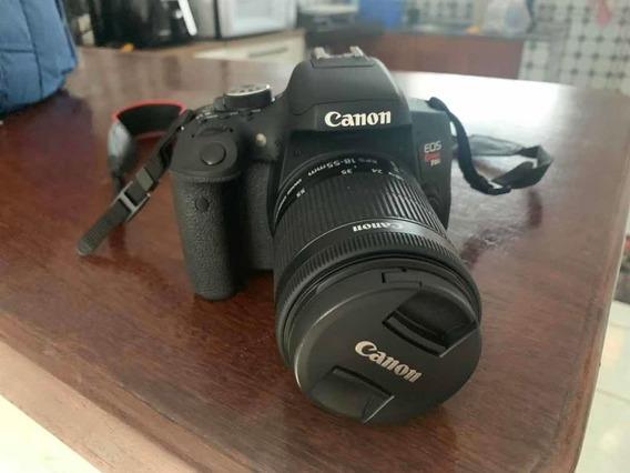 Canon Eos Rebel T6i + Acessórios