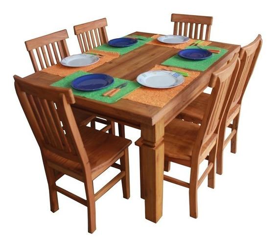 Jogo De Mesa De Jantar 1,50m + 4 Cadeiras