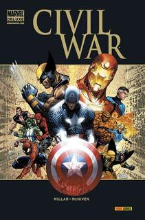 Marvel Deluxe - Civil War / Mark Millar, Steve Mcniven