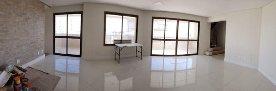 Cobertura Com 4 Dormitórios À Venda, 428 M² Por R$ 2.100.000 - Jardim Aquarius - São José Dos Campos/sp - Co0067