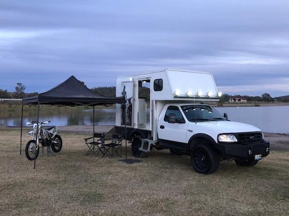 Ktm Enduro Cross Camion Para Motos Camper Motorhome Pickup