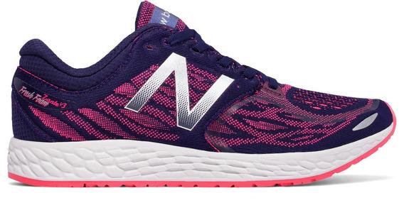 New Balance Zapatilla Running Mujer Wzantbp3 Azul - Rosa