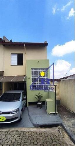 Sobrado Em Condominio Na Vila Ema - So1434