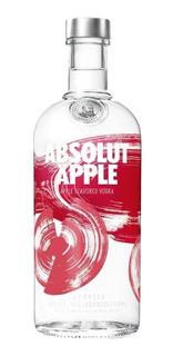 Vodka Absolut Apple 750ml. - Envíos