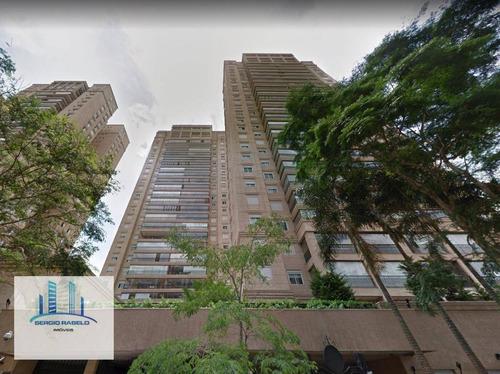 Imagem 1 de 23 de Apartamento Residencial Com 4 Dormitórios À Venda Na Rua Princesa Isabel-  Brooklin, São Paulo/sp - Ap3306