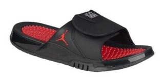 Sandalias Jordan Retro 11 Hydro Black Red