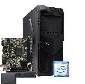 Cpu Bg3521 Intel Core I5 2400 Mb H61d 8gb Ssd 120gb 350w