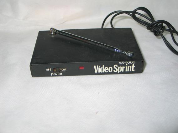 Vídeo Link Tri Star Video Sprint Vs-1000 Vhf Não Funciona!!