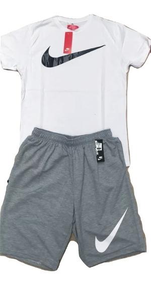 Conjuntos Deportivos Nike Pantaloneta Camiseta Hombre
