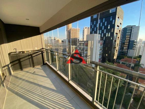 Studio Com 1 Dormitório Para Alugar, 41 M² Por R$ 2.900,00/mês - Sumarezinho - São Paulo/sp - St0075