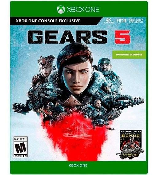 Gears 5 Xbox One En Español + Bonus Terminator Dark Fate