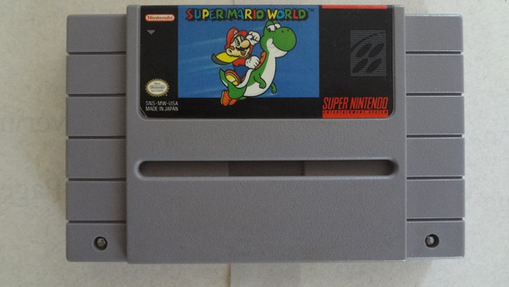 Super Mario World Super Nintendo Original E Usado