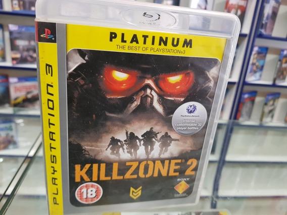 Killzone 2 Usado Original Manual Ps3 Mídia Física