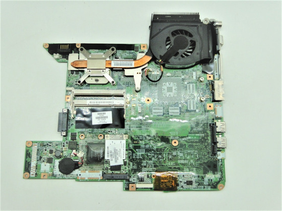 Placa Mãe Da0at8mb8h6 Notebook Hp Compaq Presario F500