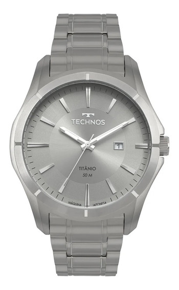 Relógio Masculino Technos Chumbo 2115mtw/4c