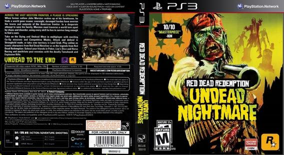 Red Dead Redemption Undead Nightmare Ps3 Digital Original