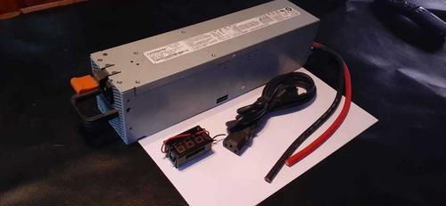 Imagen 1 de 6 de Fuente Conmutada De 77.4amperes Para Car Audio En Casa Usada
