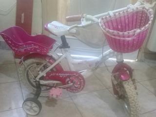 Bicicleta Raleigh Rodado 12.nena Aluminio Cupake Rosa