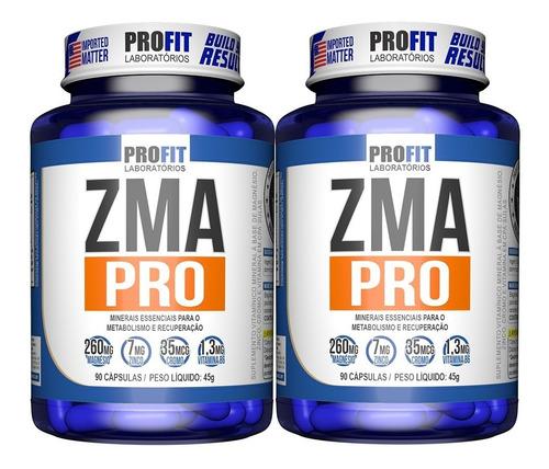 Imagem 1 de 4 de 2x Pré Hormonal Testosterona Zma Pro C/ Cromo 90cap - Profit