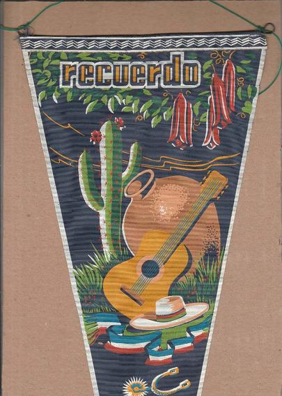 Flâmula Antiga - Recuerdo Do Chile - Em Tecido - Ao