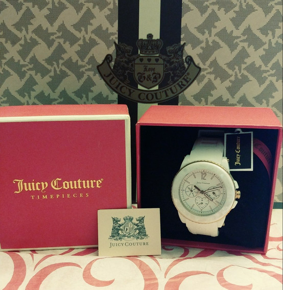 Reloj Quartz Juicy Couture Crono Wjc1570 Original 100%