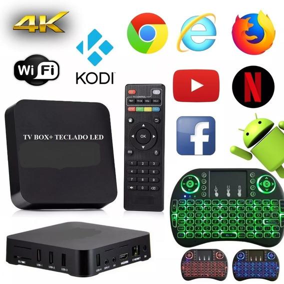 Aparelho Tv Box Transformar Em Tv Smart Promoção Netflix