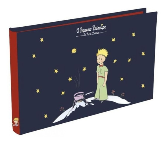 Álbum 198 Fotos Pequeno Príncipe Clássico 23x33cm 220027