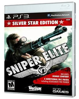 Sniper Elite V2 Silver Star Edition - Ps3