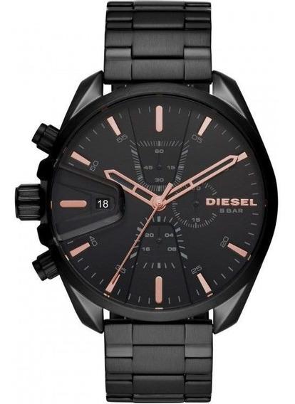 Relógio Masculino Diesel Ms9 Chrono Preto Dz4524/1pn