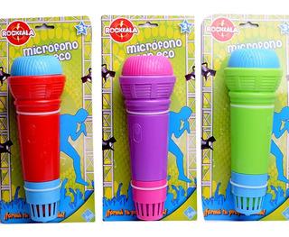 Microfono De Juguete Con Eco-el Duende Azul