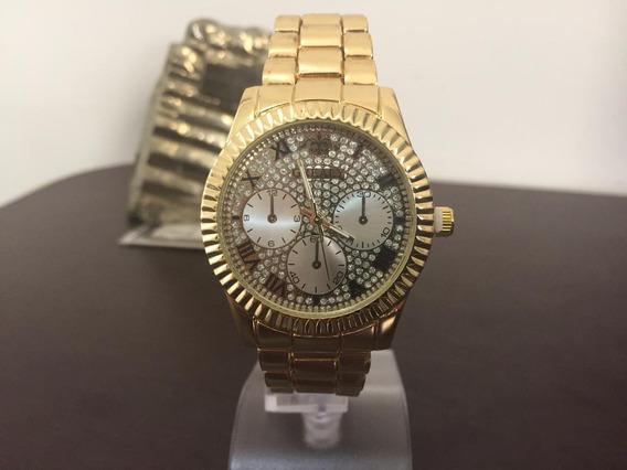 Relógios Feminino Pulso Quartzo Aço Inoxidável Metal G K3183