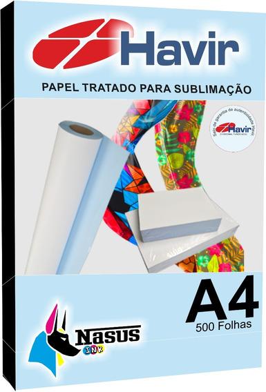 Papel Sublimação 500 Folhas A4 Fundo Azul Original!