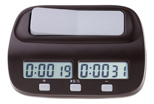Imagen 1 de 10 de Reloj Digital Profesional De Ajedrez Cuenta Arriba Abajo Tem