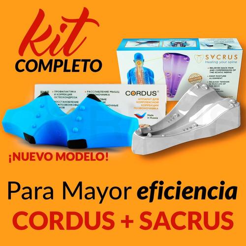 Kit Cordus Delux Y Sacrus 12 Cuotas 0% Envío Gratuito