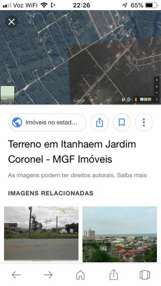 Terreno Em Itanhaem, J.coronel,3 Terrenos De 280 Metros Cada