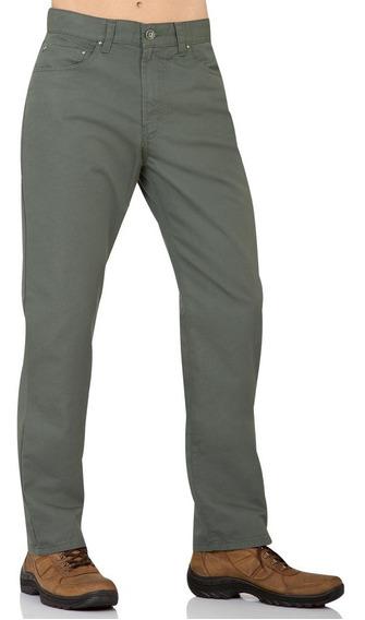 - Pantalon Furor Relaxed De Gabardina Recto De Cintura Alta