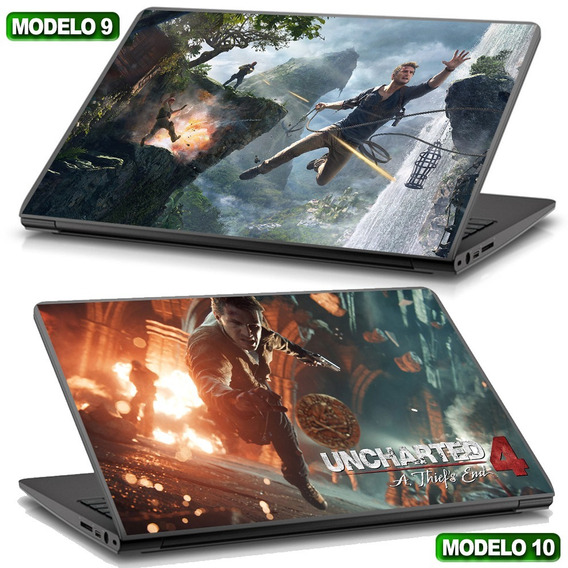 Skin Notebook Uncharted 4 Muito Top Gamer Compre Já