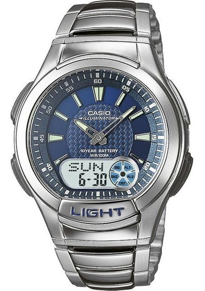 Relógio Casio Masculino Mundial Aq-180wd-2avdf