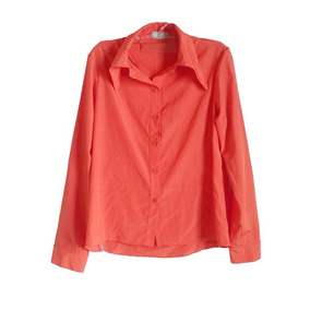 Camisa Rosa Preguiçosa Tm- 38 Feminino Seminovo